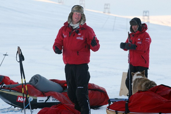 Prince Harry plans trek to the South Pole
