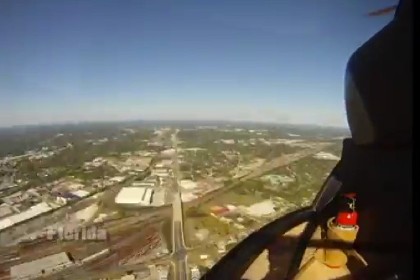 Time-lapse video shows 2,500-mile helicopter flight across America
