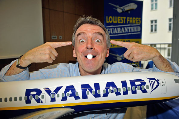 Ryanair's O'Leary predicts stampede to Greece