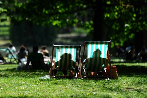 It's 20C warmer than last weekend - and the sunshine will last until Wednesday