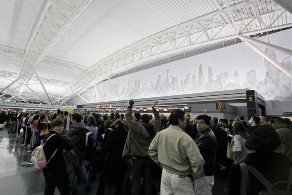 JFK Airport evacuated after metal detector found 'unplugged'