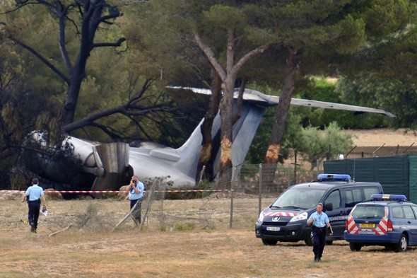 Private jet crash kills three Americans in south of France