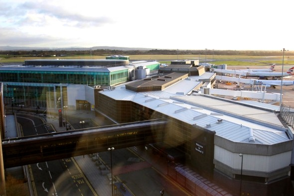 Man evades arrest at Manchester Airport, poses risk to public