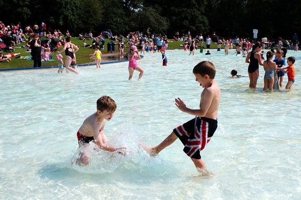 Enjoy it while it lasts! Rain back this weekend and hot August unlikely