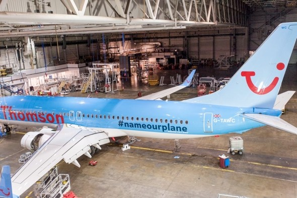 Thomson asking Twitter users to name Britain's first 787 Dreamliner