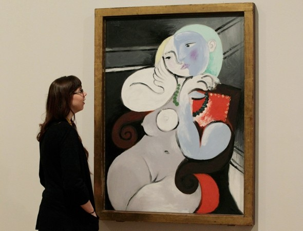 Edinburgh Airport covers up Picasso nude poster (then changes mind)
