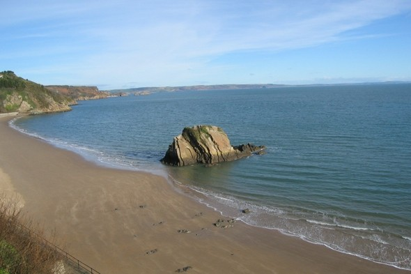 RNLI lifeguard rescues boy, 4, swept out to sea in Tenby