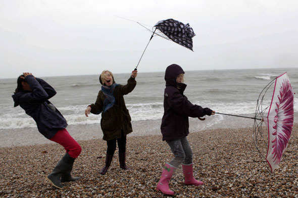 Rain and wind weather forecast for August bank holiday weekend