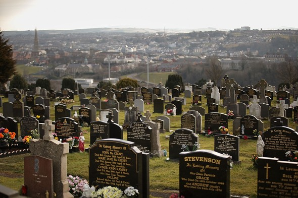Cemetery is latest tourist attraction in Derry