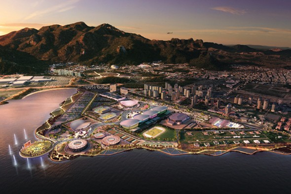Revealed! First pictures of Rio's Olympic Stadium