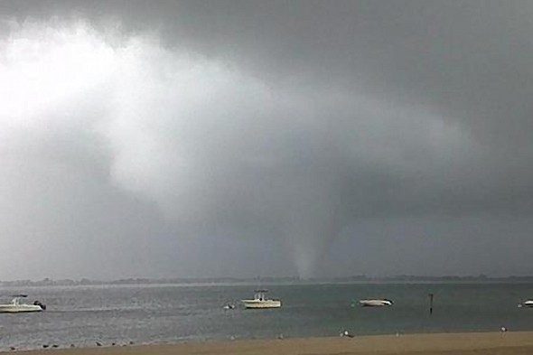 Two tornadoes hit New York City