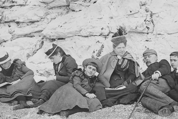 The good old days: British seaside pictures from the past