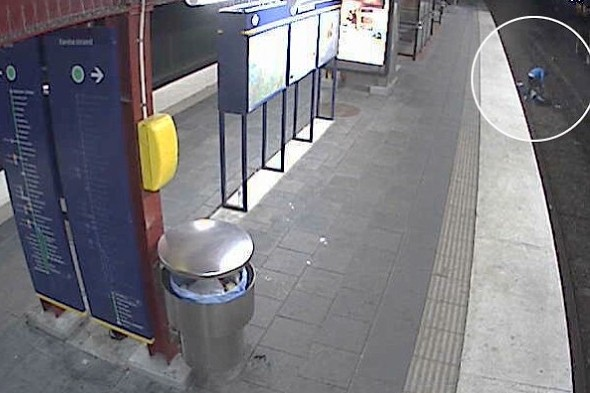 Video: Thief who left victim on rail tracks in Sweden is jailed