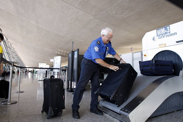 Manchester Airport security worker fails to spot fake bomb