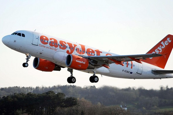 easyJet advises passengers to travel with hand luggage only