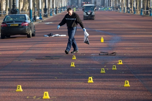 Woman killed in hit-and-run outside Buckingham Palace