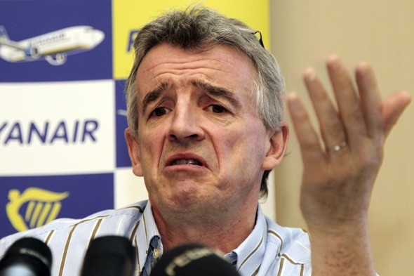 Ryanair boss Michael O'Leary: 'Seatbelts on planes are pointless'