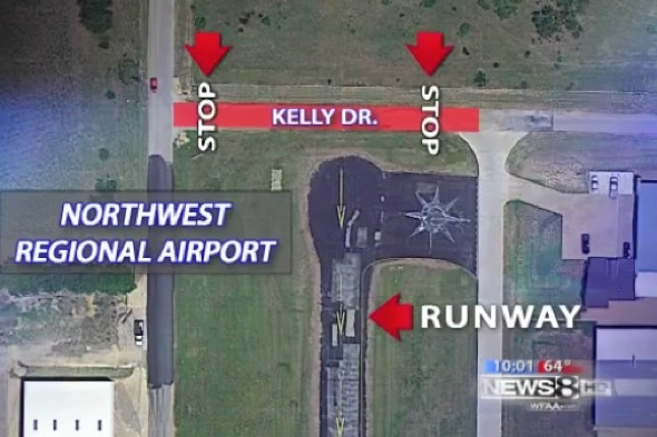 Shocking video: Plane crashes into SUV coming into land on runway