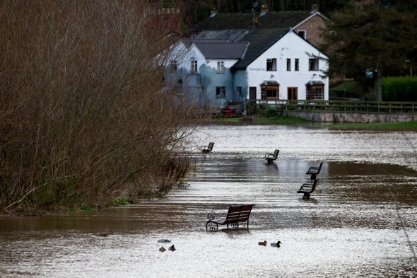 More flood warnings as Britain set for three inches of rain