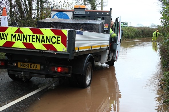 Week of bad weather as hurricane-force winds and floods sweep in