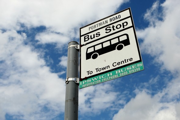 Man critically ill after being pushed off bus in Ipswich