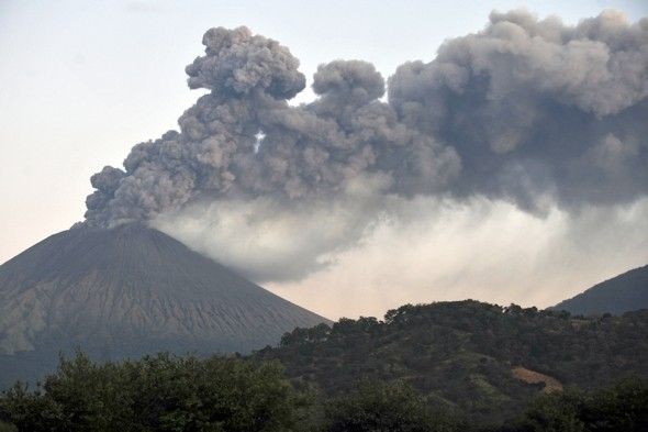 Evacuations after Nicaragua volcano erupts