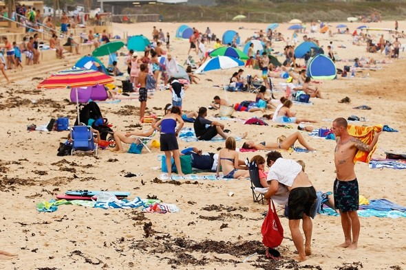 While the UK freezes, Sydney roasts in record-breaking 46C heat