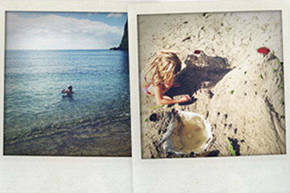 Gwyneth Paltrow shares family holiday snaps