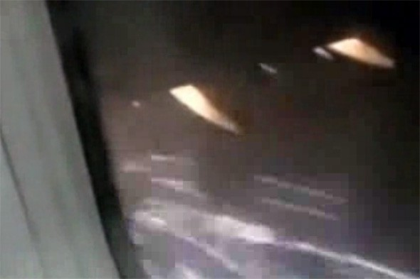 Video: Footage emerges of Turkish Airlines plane catching fire mid-air