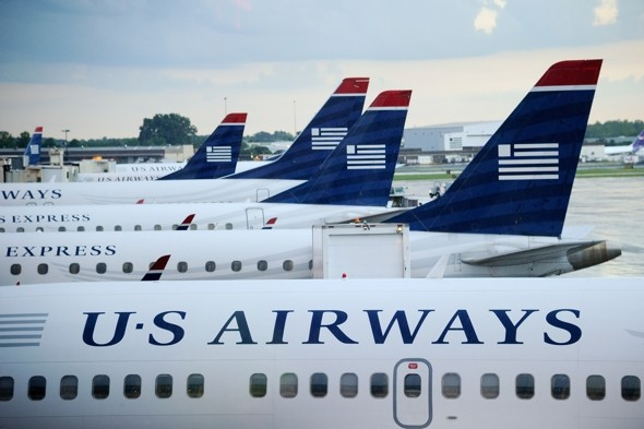 Smoke in cockpit grounds US Airways plane during take-off