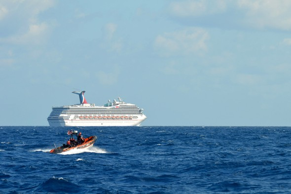 Unfortunate couple marry on stranded Carnival Triumph cruise ship in Mexico