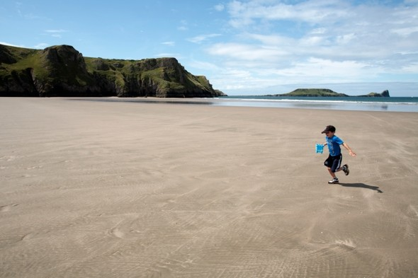 Australians moan about Welsh beach being named 10th best in the world