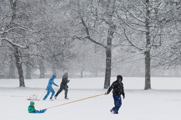 More heavy snow on the way after half-term chill
