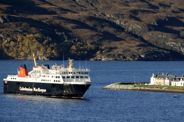 Major search launched after woman 'overboard' on Stornoway Ferry