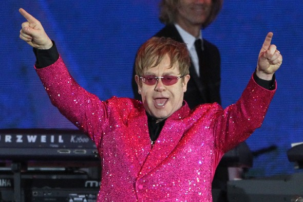 Elton John books entire hotel room for his glasses collection