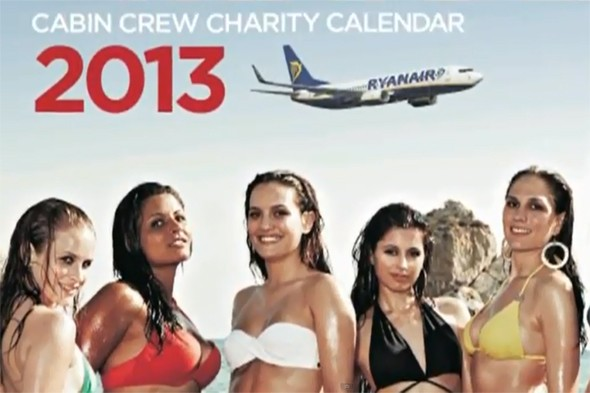 Ryanair in trouble over 'sexist' calendar