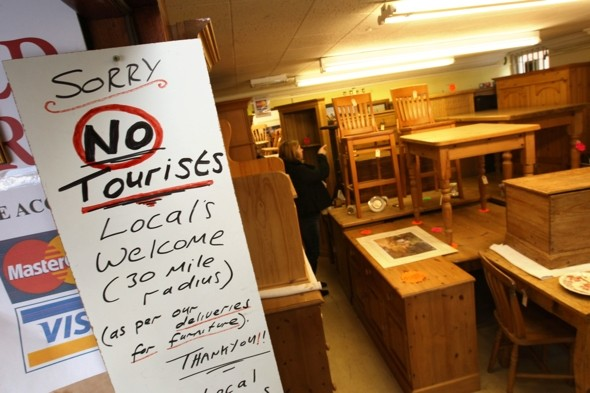 Dorset shop owner bans tourists 'because they never buy anything'