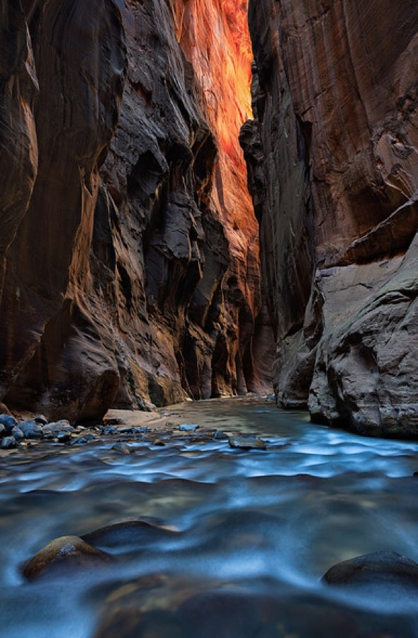The stunning 'nature's subway' in Utah that's limited to 80 hikers a day