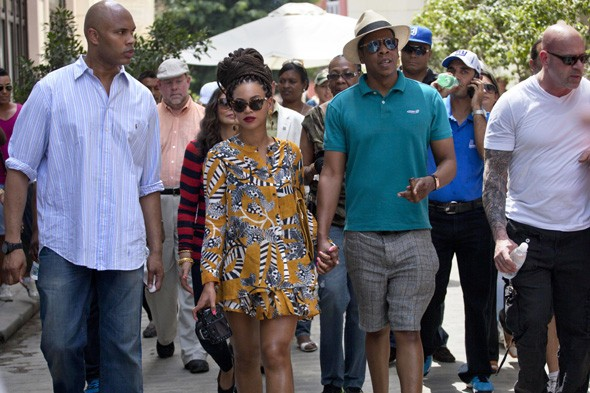 Why are American politicians questioning Beyoncé and Jay-Z's holiday to Cuba?