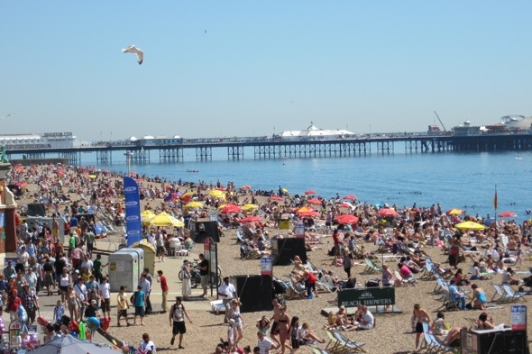 Book a staycation! Britain set for warmest day of the year this weekend