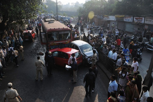 Indian bus driver given death penalty for killing nine people on rampage