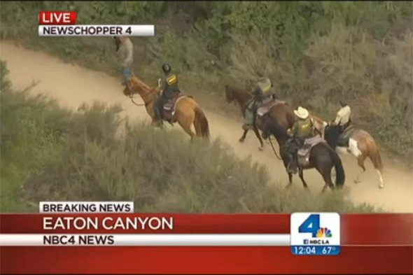 Five missing hikers found in Southern California canyon unaware of rescue effort