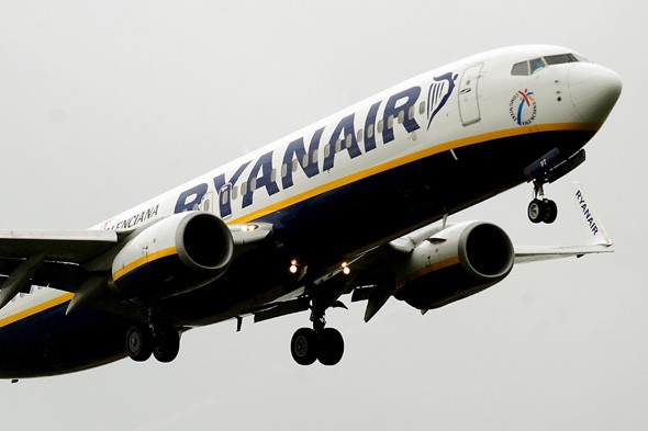 Ryanair plane tail hits Luton runway on takeoff - flight aborted