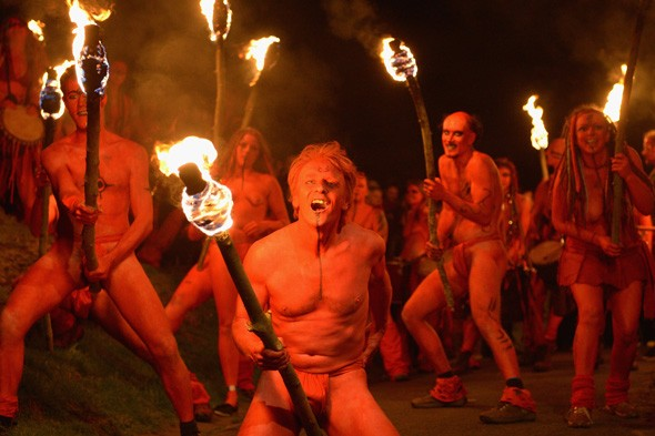 In pictures: Beltane Fire Festival 2013