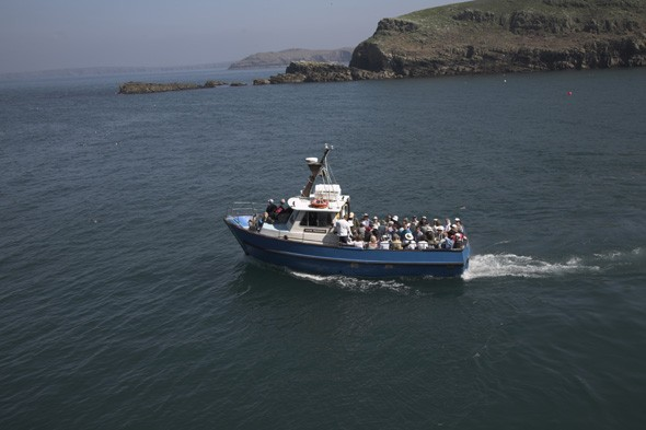 48 passengers rescued from sinking boat off Pembrokeshire