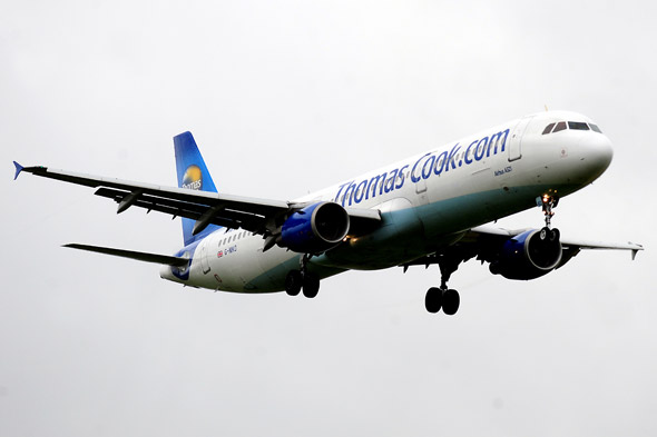 Thomas Cook holiday plane makes emergency landing after 'fire in cabin'