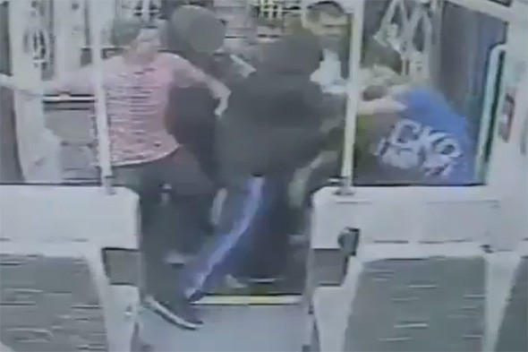 Teens attack tram passengers 'like pack of dogs' and walk free