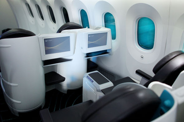 First class passengers blamed for global warming