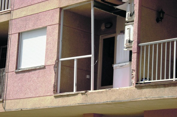 British man blown out of Spanish apartment after using bug spray