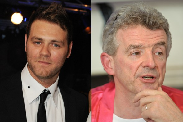 Brian McFadden calls Ryanair boss a 'scumbag' in spat with airline